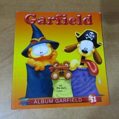 F-2livro Em Frances - Garfield Album 51