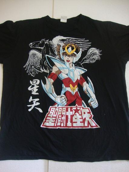 Camiseta Cavaleiros Do Zodíaco Gg