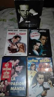 Dvds Colección Bogart Pack 4 Películas