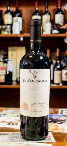 Imagen 1 de 1 de Doña Paula Single Vinyard Pulp Series Tannat Malbec 2006