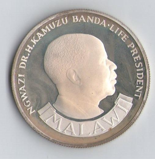 Malawi - 10 Kwacha 1964 - Aniversario Independencia