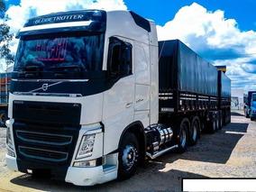Volvo Fh 540 6x4 Ishift Globetrotter Ano 2017 Bitrem