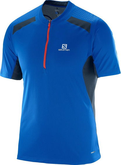 Remera Salomon - Fast Wing Ls Tee - Trail Running - Hombre