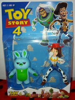 Blíster Con Muñeco De Toy Story Vaquerita Jessi Y Otro