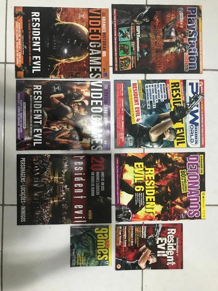 Revistas Raras / Antigas - Resident Evil