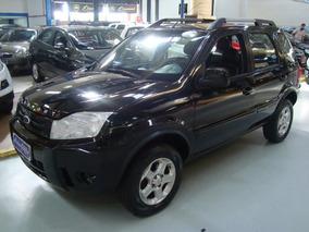 Ford Ecosport Xlt 1.6 Flex 2011 Preto (completo + Couro)