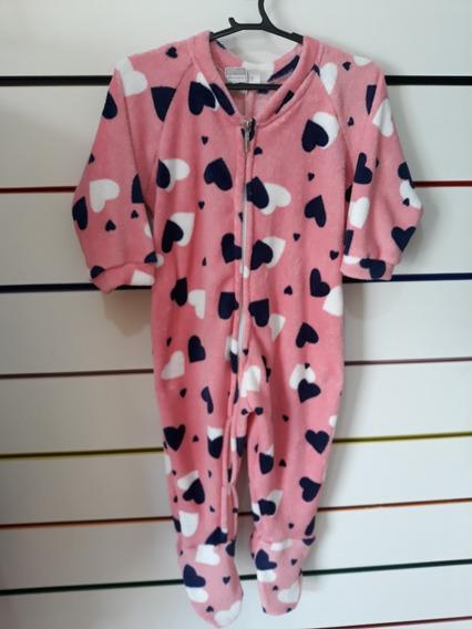 Pijamas Infantis Macacão Com Pezinho