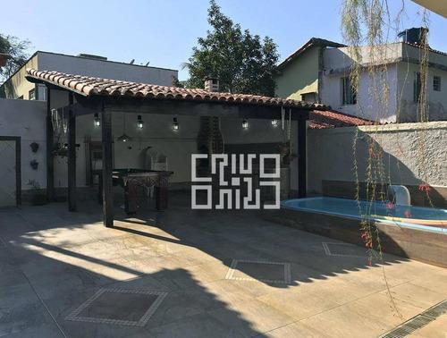 Casa Com 2 Quartos À Venda, 123 M² Por R$ 680.000 - Itaipu - Niterói/rj - Ca0037