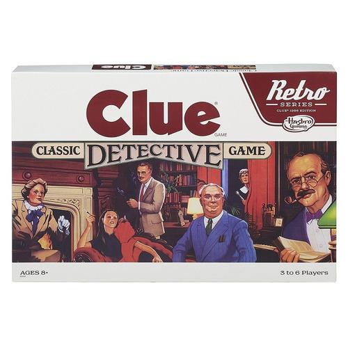 Clue Edición Retro Nuevo Original Hasbro