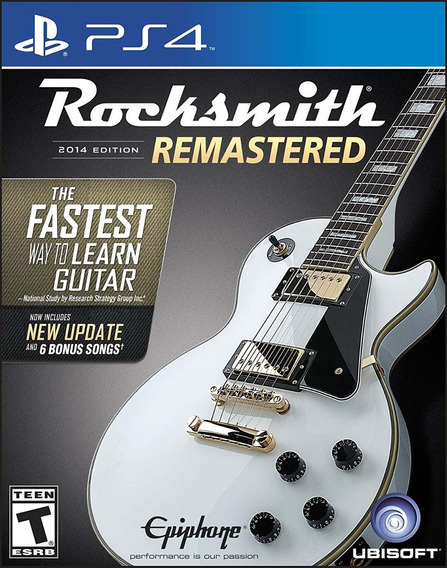 Rocksmith 2014 Edition Remastered C/ Cabo - Ps4