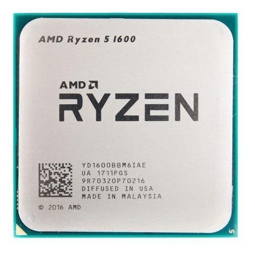 Processador Gamer Amd Ryzen 5 1600 6 Núcleos E 3,6ghz