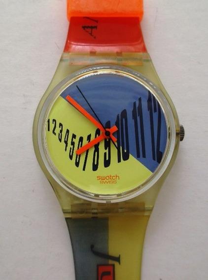 B9853 Relógio Swacht Quartz - Modelo 131 Tipesetter Coleção
