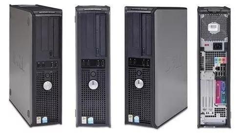Cpu Pc Dell Intel Dual Core 8gb Hd 250 Win.7 , Wi-fi