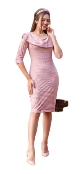 Vestidos Femininos Em Renda Moda Evangélica Maria Amore 2899