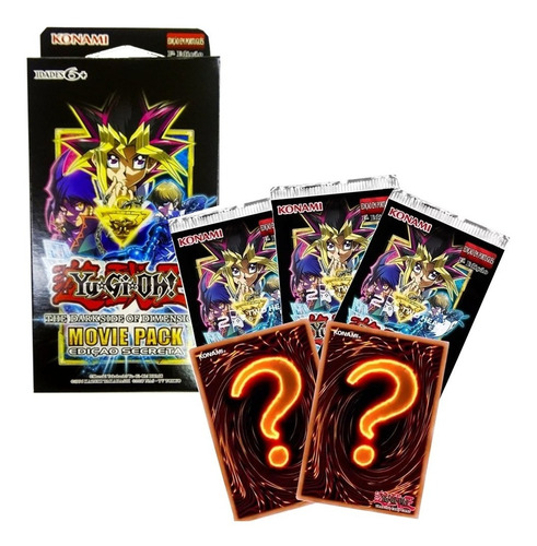 Yugioh Booster Movie Pack Edicao Secreta - Konami
