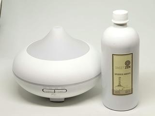 Aromatizador Ultrasonico 500ml K Blanco Sweet + Recarga
