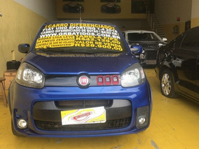 Fiat Uno 1.4 Sporting Blue Edition Flex Dualogic 4p