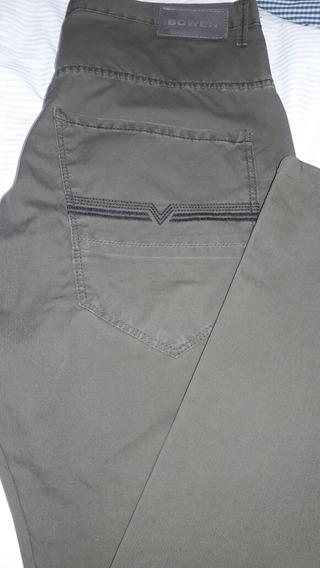 Pantalon Bowen Talle 44 De Gabardina