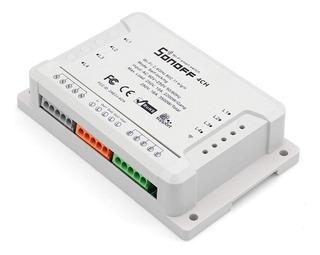 Sonoff 4ch Canais Interruptor Wifi Automação Loja Casa
