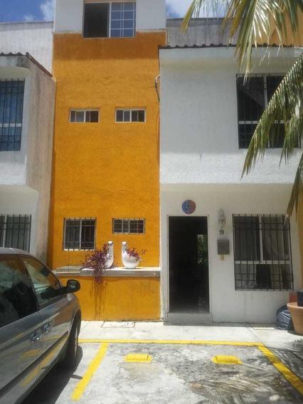 Se Renta Bonita Casa En El Centro De Cancun