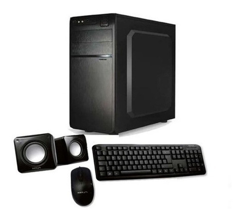 Computadora Pc Amd E6010n 4 Gb Hd 1 Tb Tec Mouse - Aj Hogar