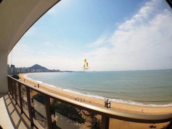 Nagib Carone - Apartamento 04 Quartos Frente Mar Praia De Itapuã. - 19352
