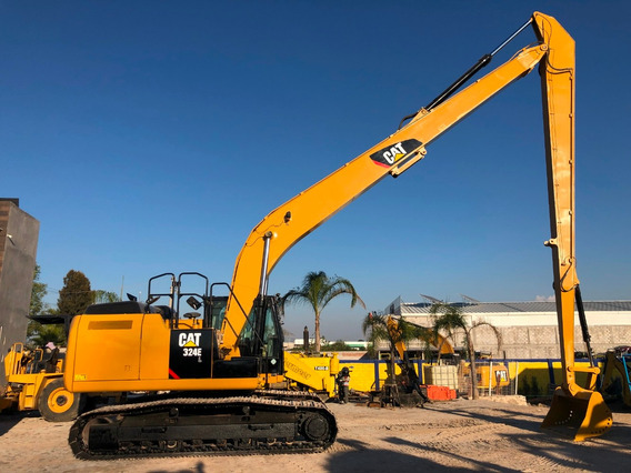 Excavadoras 324e Brazo Largo, 4000 Hrs, Servicios