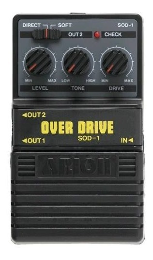 Arion Sod 1 Pedal P/ Guitarra Overdrive Outlet