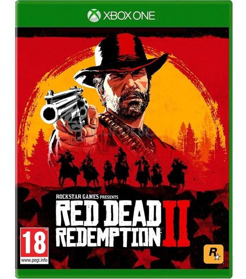 Game Red Dead Redemption 2 Xbox One Midia Fisica Original Br