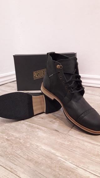 Zapatos De Cuero Vacuno Para Hombres Talle 42