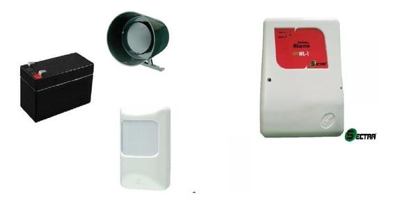 Kit Alarme Residencial Ou Comercial C/ Sensor Sem Fio