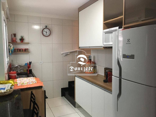 Cobertura Com 2 Dormitórios À Venda, 80 M² Por R$ 360.000,00 - Vila Marina - Santo André/sp - Co11824