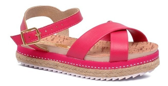 Sandália Infantil Molekinha 2305314 Rosa Pink