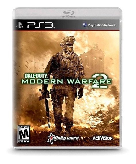 Call Of Duty Modern Warfare 2 - Novo Original Playstation 3