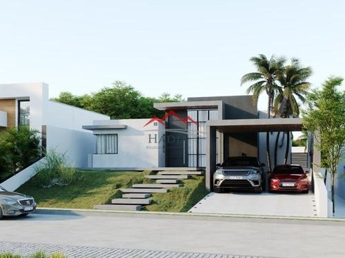 Imagem 1 de 6 de Casa A Venda Em Condomínio Residencial Cambarah Em Jarinu Sp - Ca00248 - 68448860