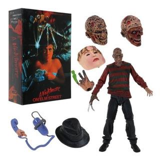 Figura Freddy Krueger Ultimate Pesadilla Neca Original Adr