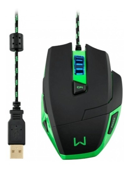 Mouse Multilaser Warrior Gamer 3200dpi