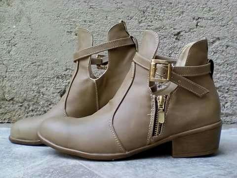Zapato Botin 2018 Primavera Verano
