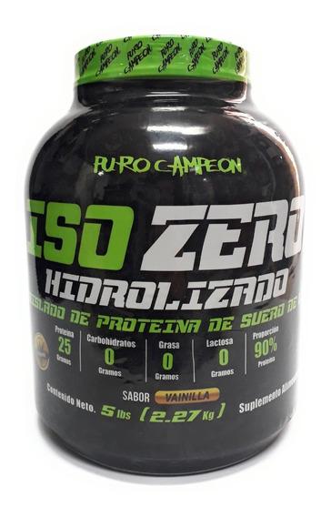 Proteina Iso Zero Cero Carbohidratos Puro Campeon 5lb Full