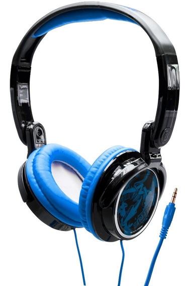 Fone De Ouvido Headphone Dobrável Jammerz Cv400 Azul