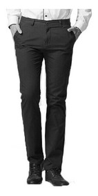 Pantalon Chino Chupin Saten Pantalon De Vestir Hombre, Local