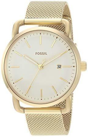 Relógio Feminino Fossil Commuter Es4332 Dourado Original