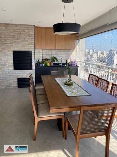 Imagem 1 de 21 de Apartamento Com 2 Dormitórios À Venda, 102 M² Por R$ 1.300.000,00 - Tatuapé - São Paulo/sp - Ap6934