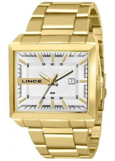 Relógio Lince Ref. Mqg4267s - Dourado - Unisex Mqg4267s