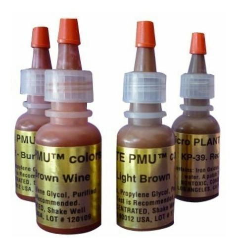 Pigmentos Kp Pum Microblonding Micropigmentacion
