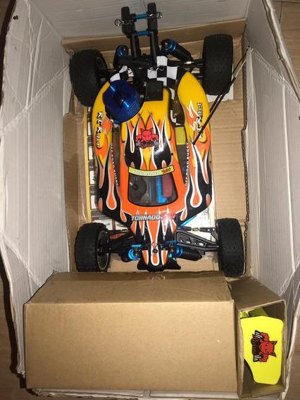 Carro Rc Modelo Tornado S30 Nitro Scala 1/10 200verdes