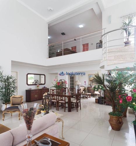 Casa Com 3 Suítes À Venda, 340 M² Por R$ 1.850.000 - Royal Tennis - Londrina/pr - Ca1752
