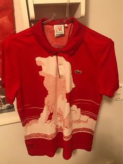 Camisa Polo Lacoste Live Osamu Tezuka Serie Especial