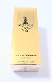 Perfume One Million 200ml- P.rabanne -vídeo Original 12x S/j