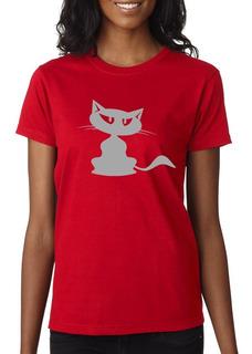 Remera Cat - Estampados Con Onda - Diseño Exclusivo